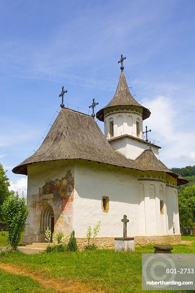 Church of the Holy Cross, 1487, UNESCO World Heritage Site, Patrauti, Suceava County, Romania