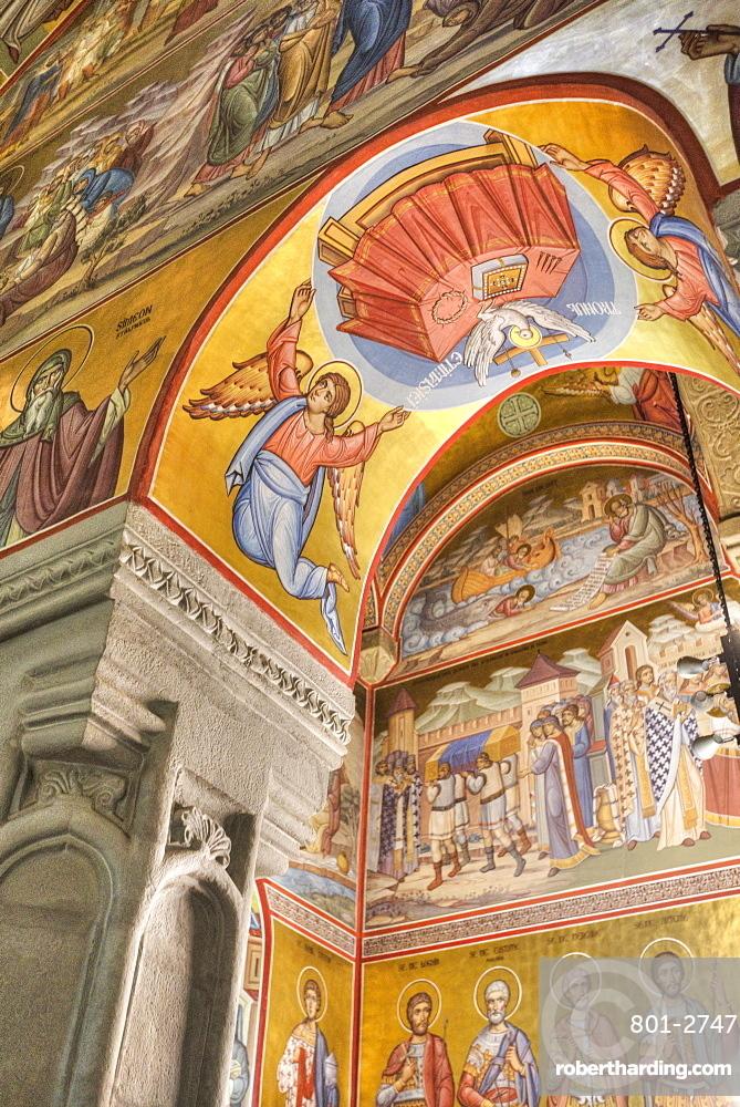 Interior Frescoes, Putna Monastery, 1466, Putna, Suceava County, Romania