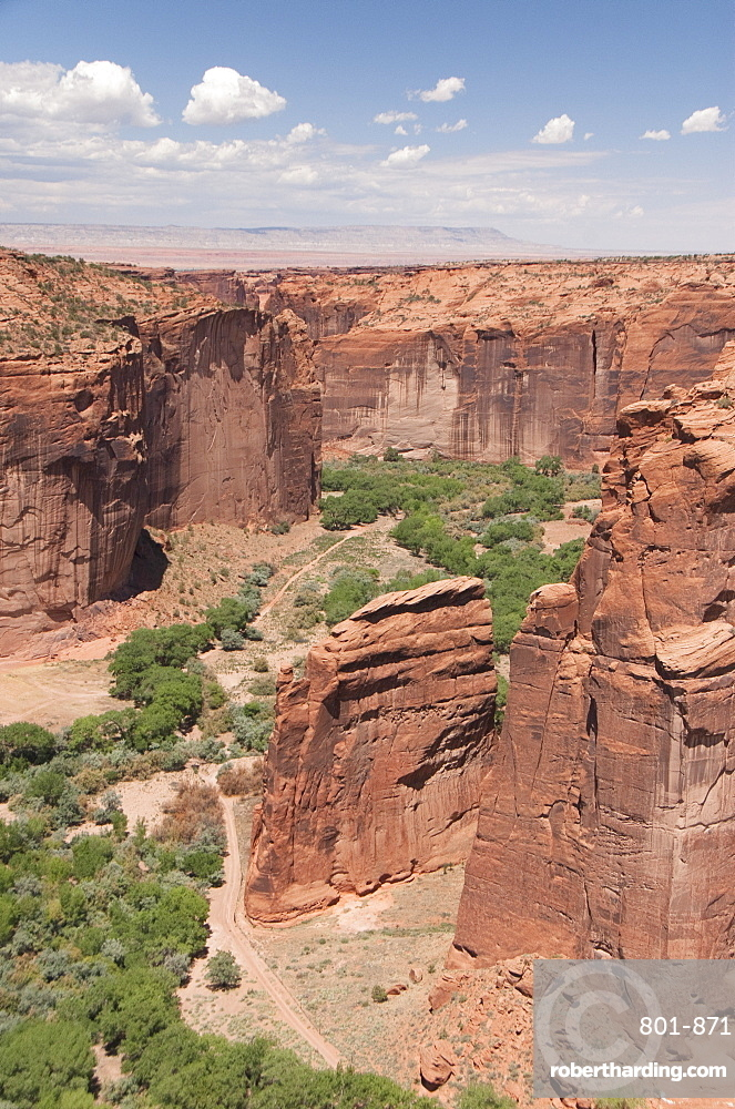 Canyon de Chelly National Monument, View from the Whitehouse Overlook, Arizona, United States of America, North America