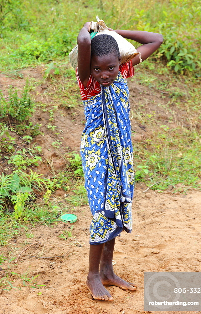 Young girl, Kenya, East Africa, Africa