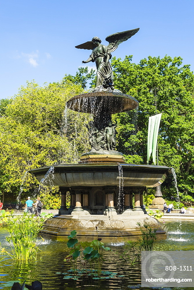 Bethesda Fountain, Central Park, Manhattan, New York City, New York, United States of America, North America