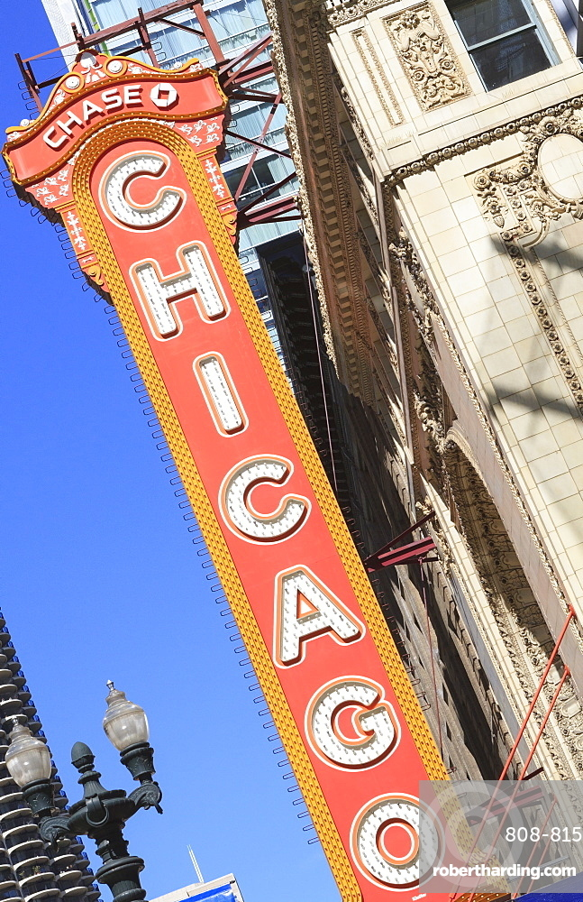 Chicago Theater, Chicago, Illinois, United States of America, North America