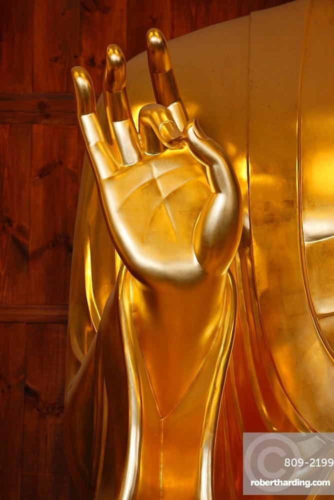Bhaisajya Buddha (Medicine Buddha), Jogyesa Temple, Seoul, South Korea, Asia