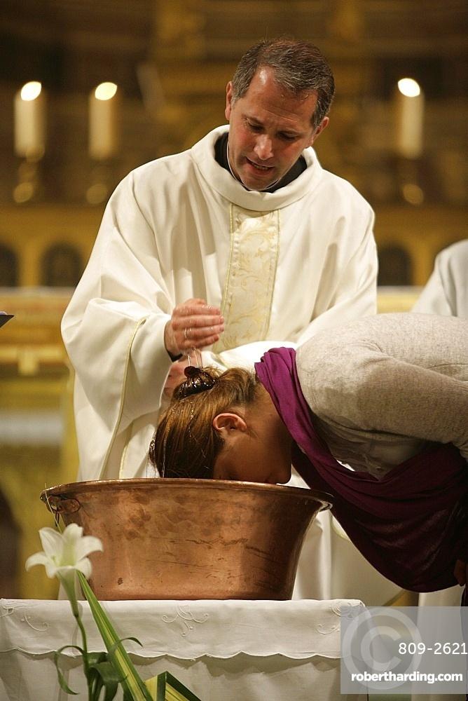 Baptism, Paris, France, Europe