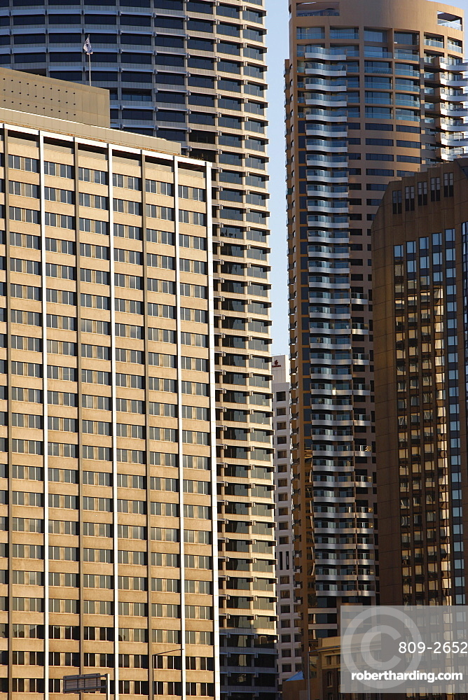 Skyscrapers at Sydney Harbour, Sydney, New South Wales, Australia, Pacific