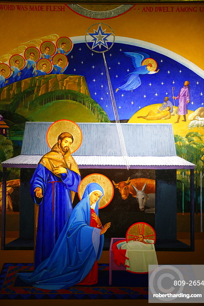 Nativity, Christ Church St Laurence, Sydney, New South Wales, Australia, Pacific
