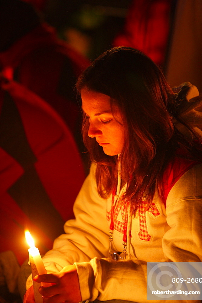 Evening vigil, World Youth Day, Sydney, New South Wales, Australia, Pacific