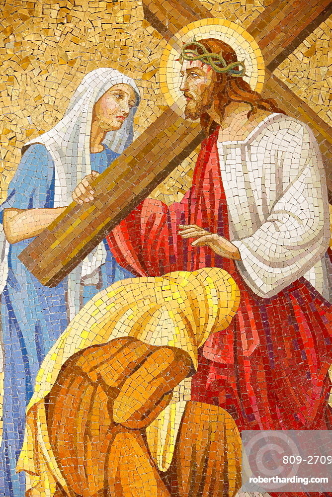 Passion of Jesus Christ, Sacred Heart Church, Sydney, New South Wales, Australia, Pacific