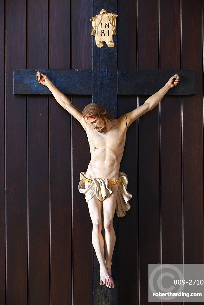 Crucifix, Sacred Heart Church, Sydney, New South Wales, Australia, Pacific