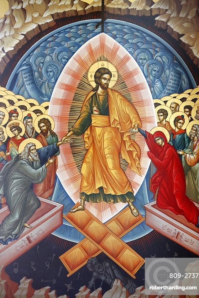 Resurrection icon, Tirana, Albania, Europe