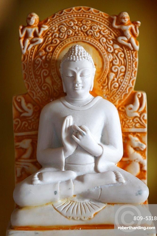 Buddha statue, Paris, France, Europe