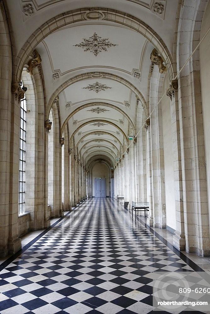 Saint-Vaast Abbey, now housing the Arras Fine Arts Museum, Arras, Pas-de-Calais, France, Europe