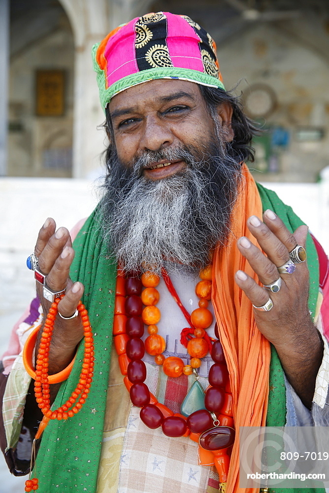 Sufi, Ajmer Sharif Dargah, Rajasthan, India, Asia