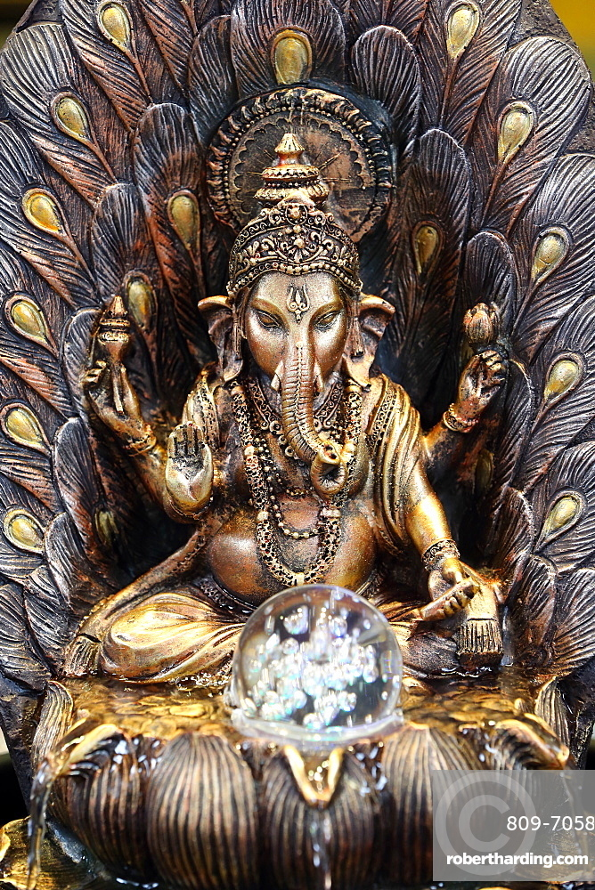 Ganesha, Sri Mariamman Hindu temple, Singapore, Southeast Asia, Asia