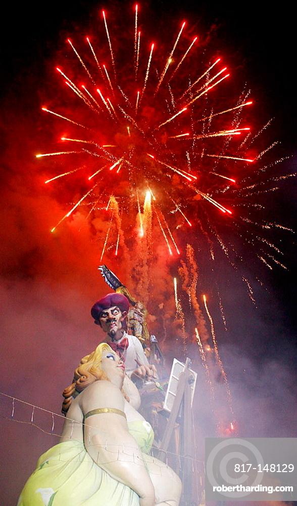 'Fallas' festival, Valencia, Spain