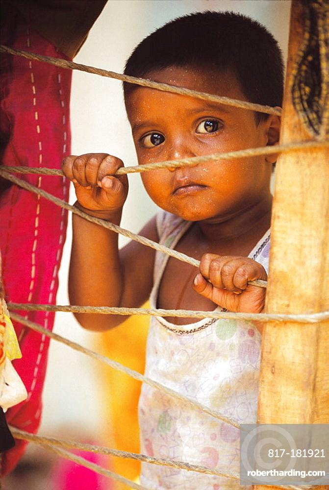 Child, New Delhi, India