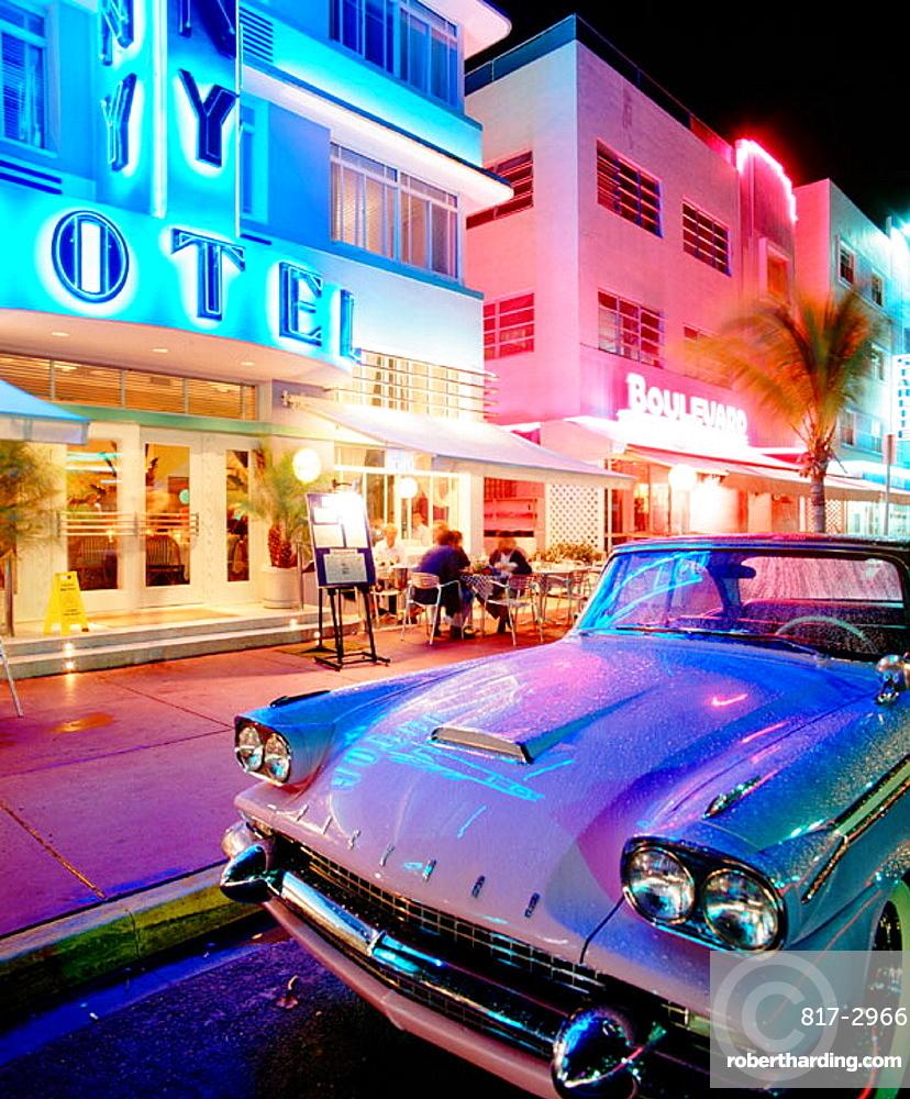 Deco district, Miami Beach, Florida, USA