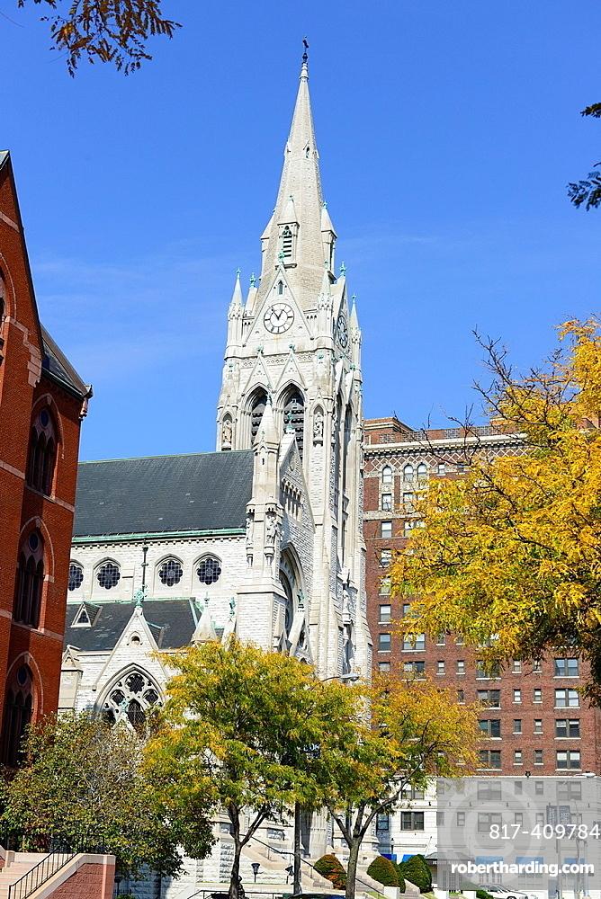 St  Francis Xavier Catholic College Church Saint Louis University MO