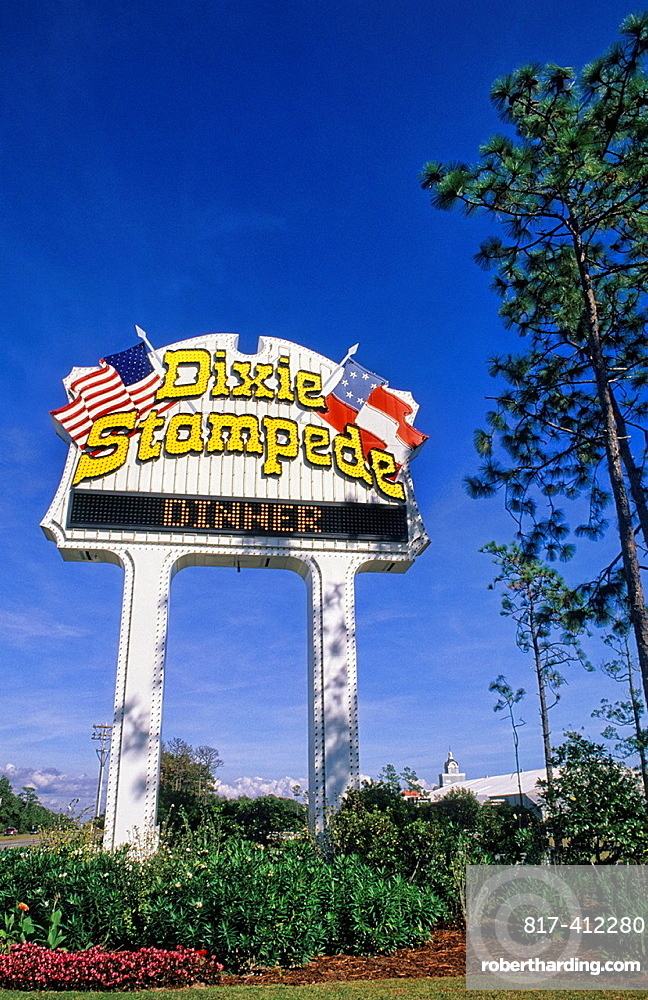 Famous Dixie Stampede in Myrtle Beach South Carolina USA