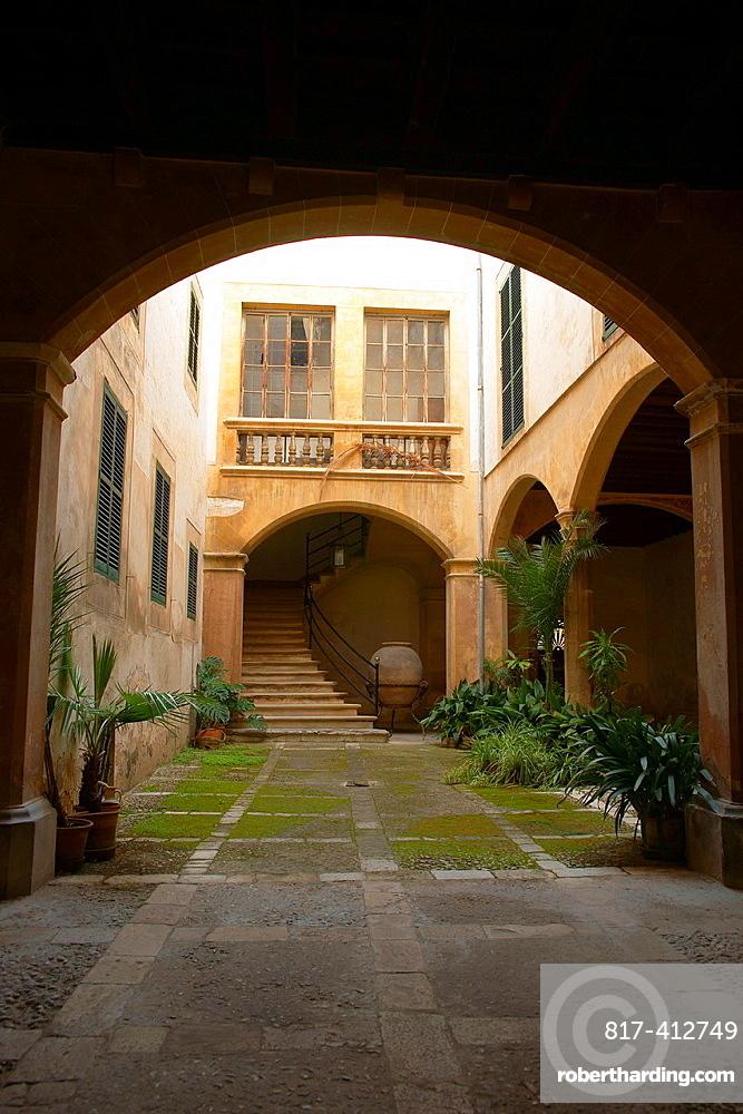 Can Dameto of Quartera, XVI-XVII century, Centro Historico Palma Mallorca Balearic Islands Spain