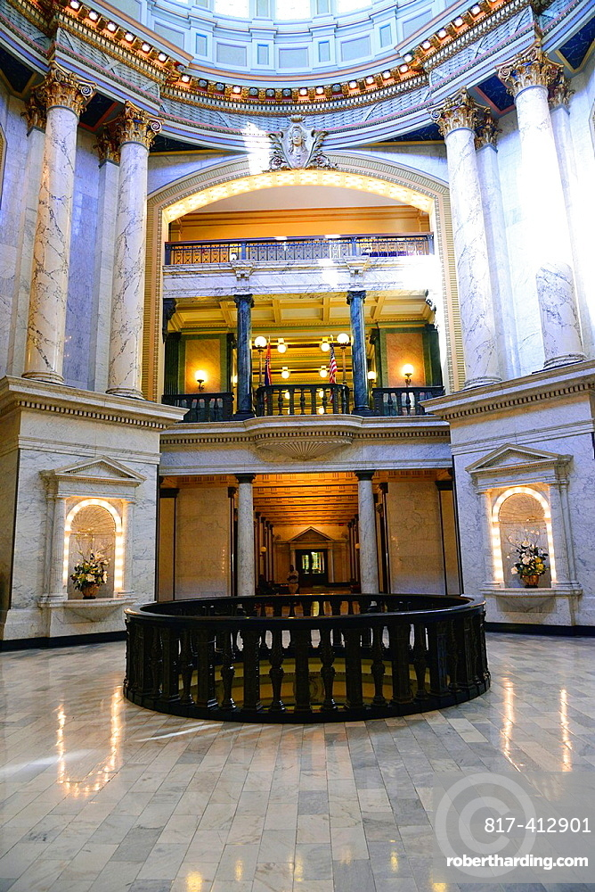 Interior State Capitol Jackson, Mississippi, United States of America