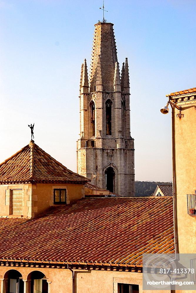 Sant Felix cathedral Gerona Catalonia Spain