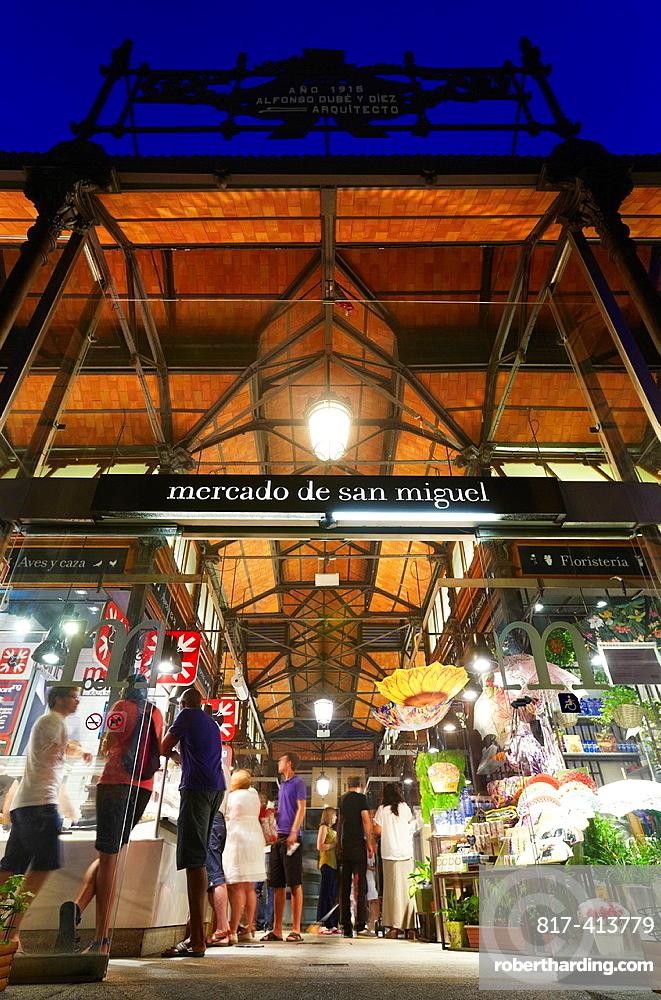 San Miguel market, Madrid, Spain