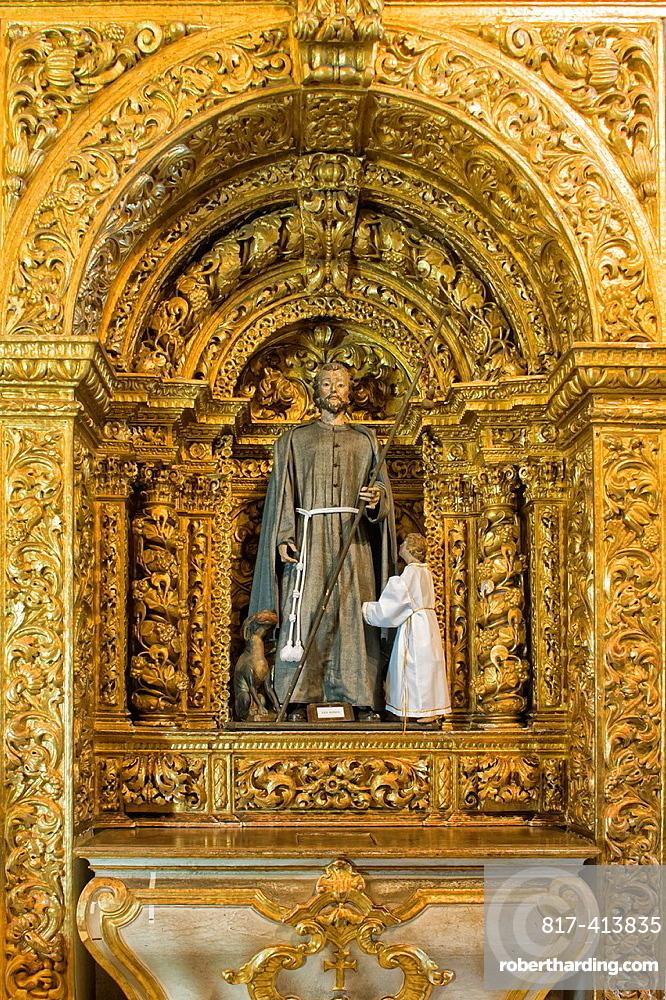 Convento e Igreja de Santo Antonio, Convent and Church of Santo Antonio, Sao Roque, Capela Dourada, Golden Chapel, Pernambuco state, Brazil