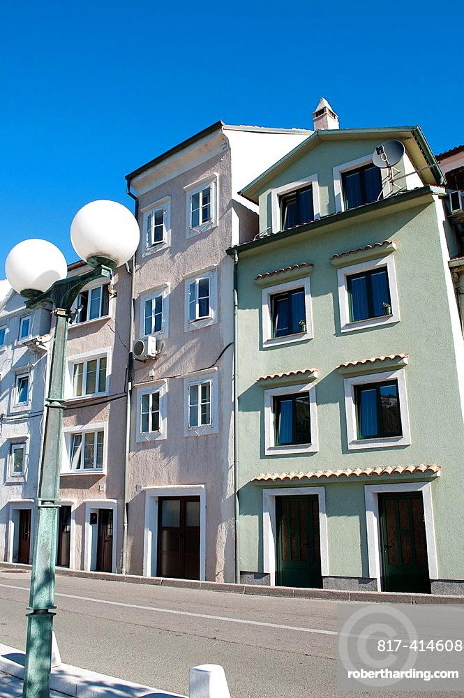Town houses, Bakar, Croatia