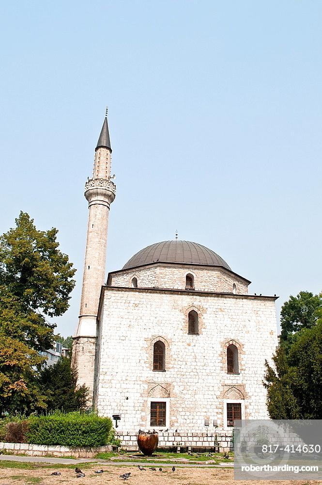 Alipasa Mosque, built in 1561, Sarajevo, Bosnia and Herzegovina