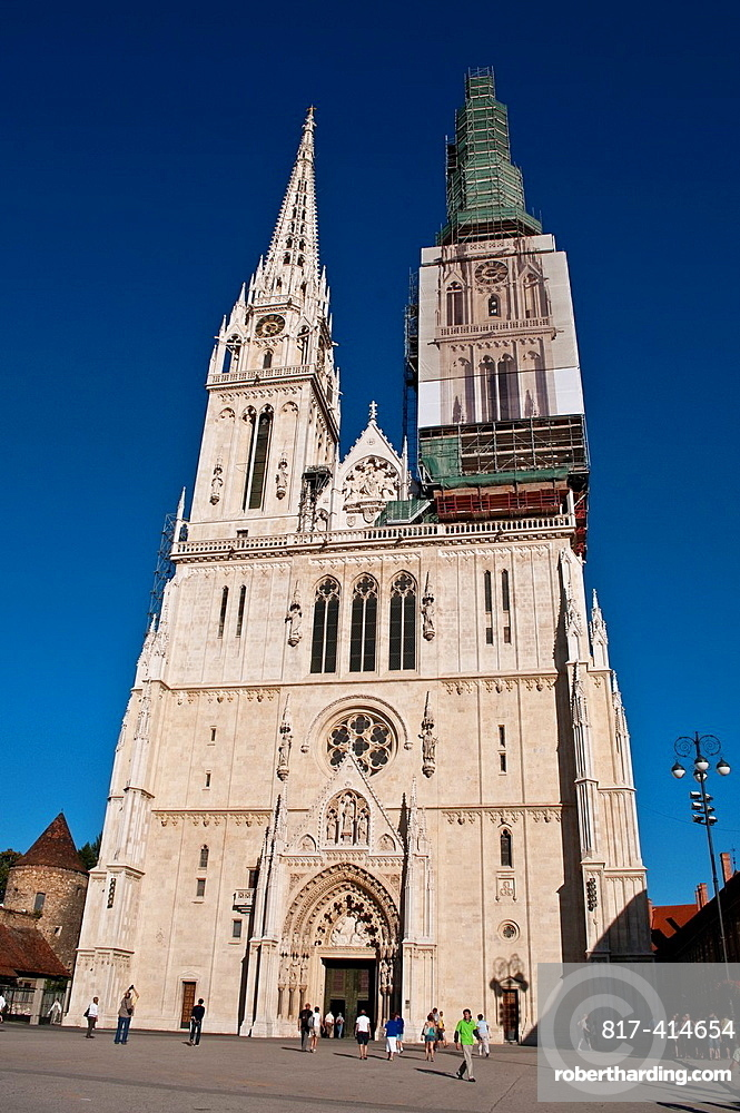 Cathedral of the Assumption of St Mary, Kaptol, Zagreb, Croatia