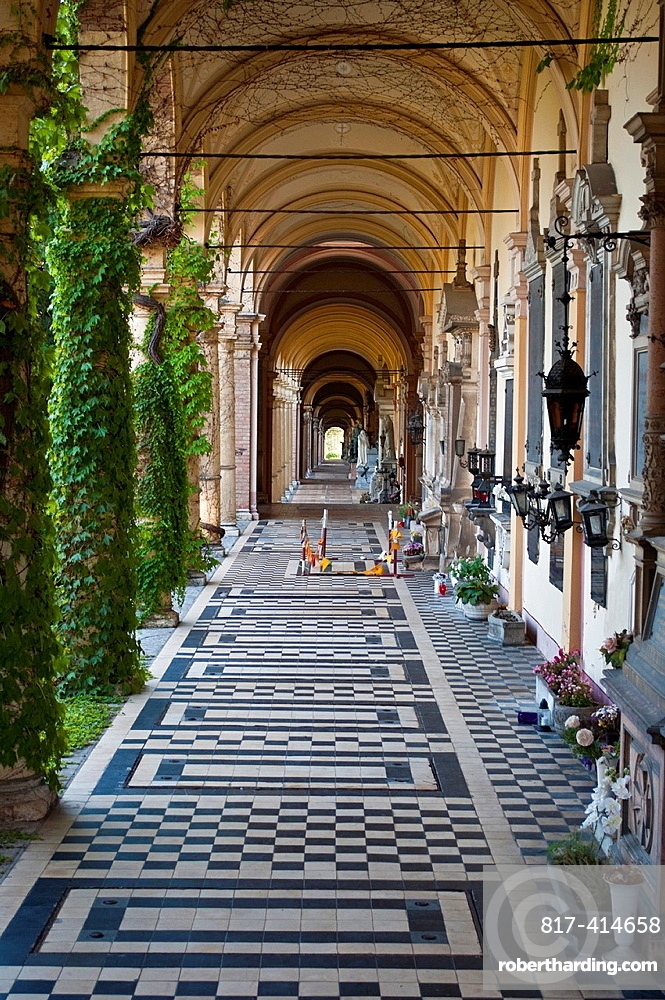Mirogoj Cemetery Arcades, Zagreb, Croatia