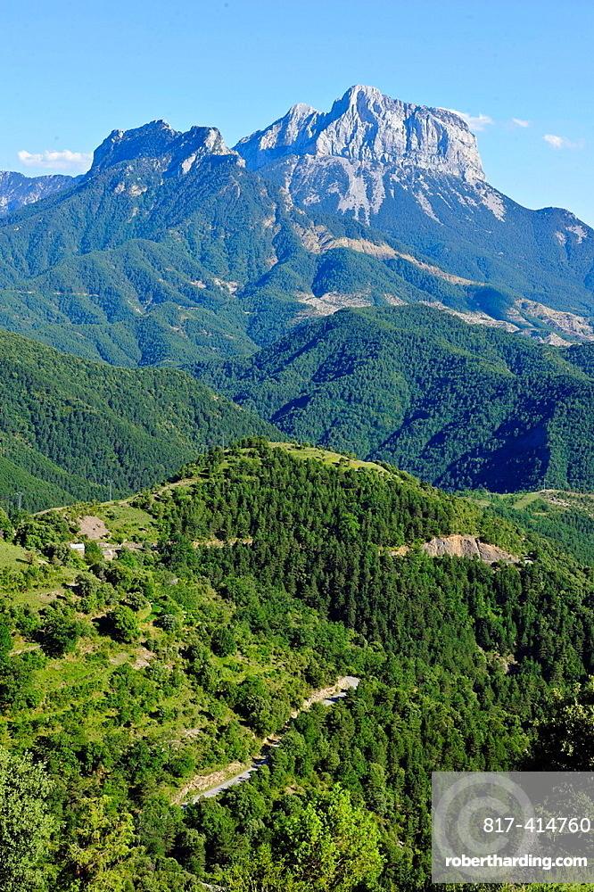 Pena Montanesa Comarca de Sobrarbe Pirineos Huesca.