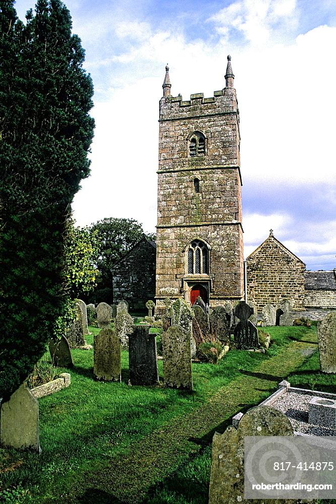 Collegiate Church of St Endellion in Fowley England