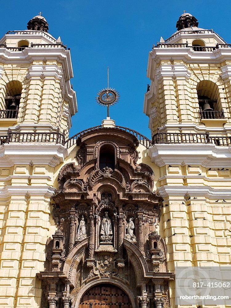Peru Lima city Church and Convent of San Francisco