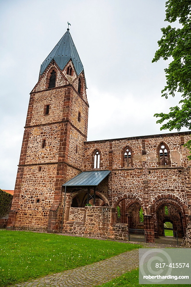 The historic Totenkirche in Treysa, Hesse, Germany, Europe