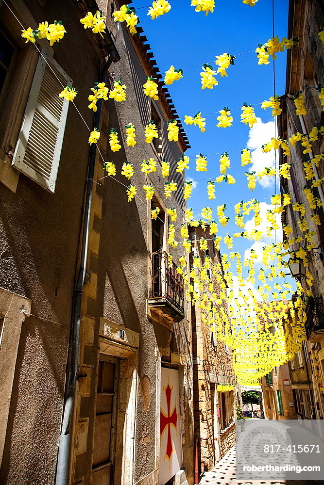 Summer festival in Belves, Perigueux, Dordogne, Aquitaine, France