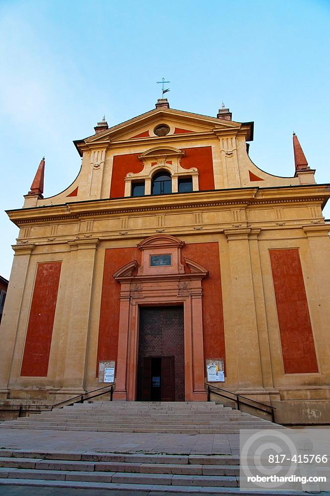 Chiesa di San Pietro church 1586-1782 central Reggio Emilia city Emilia-Romagna region northern Italy Europe