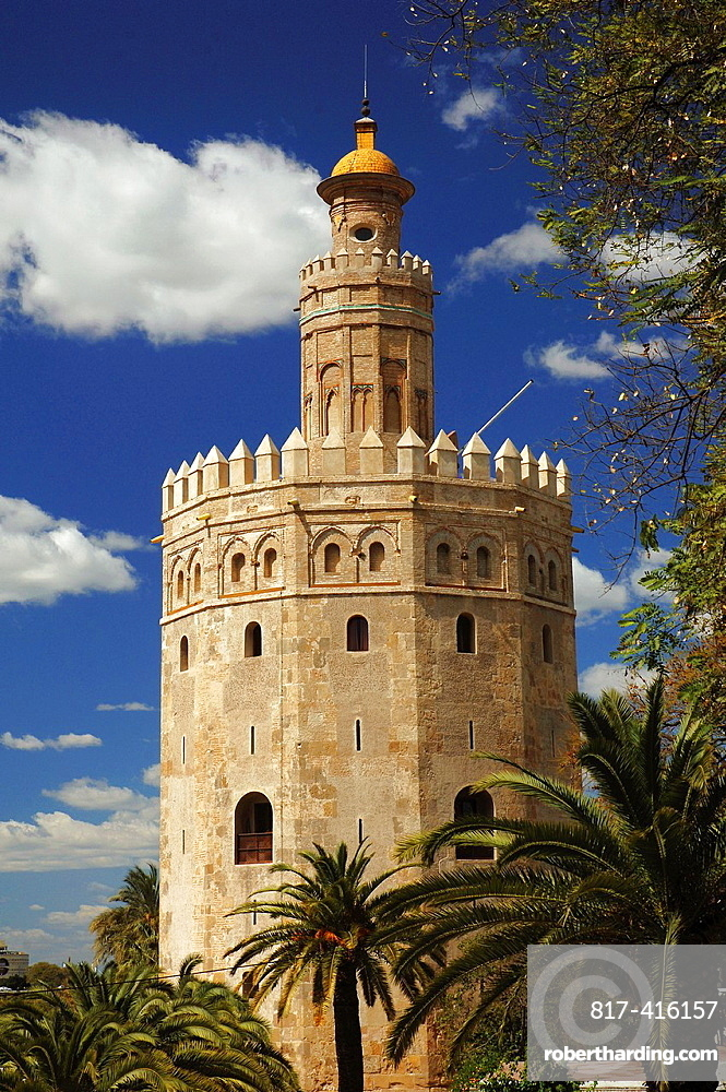Golden tower, Seville