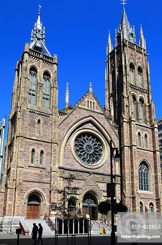 Canada, Quebec, Montreal, St James Church,