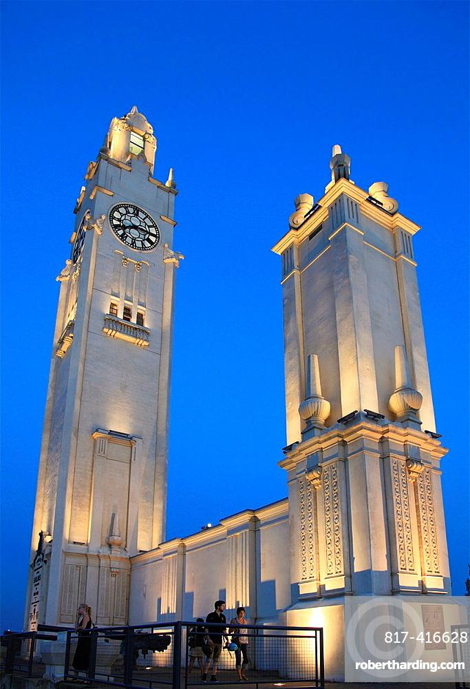 Canada, Quebec, Montreal, Tour de lhorloge, Clock Tower,