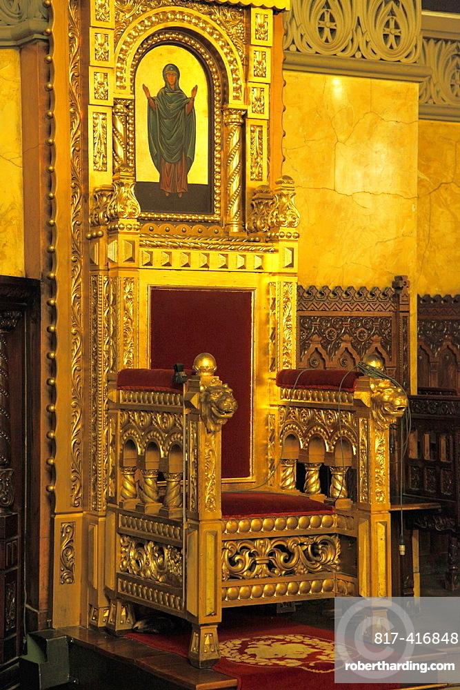 Romania, Timisoara, Metropolitan Cathedral, interior,