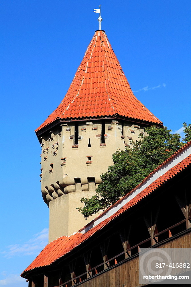 Romania, Sibiu, Carpenters Tower,