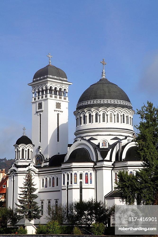 Romania, Sighisoara, Holy Trinity orthodox church,