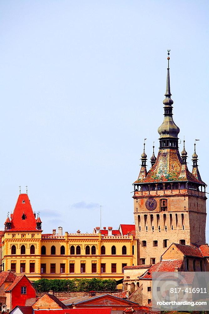 Romania, Sighisoara, Clock Tower,