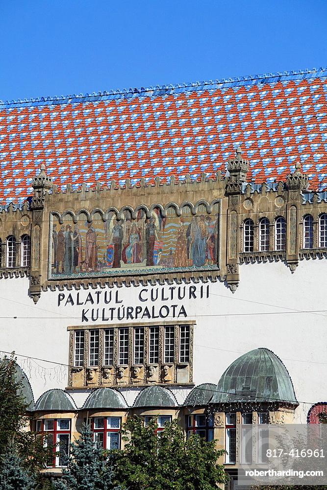 Romania, Targu Mures, Culture Palace,