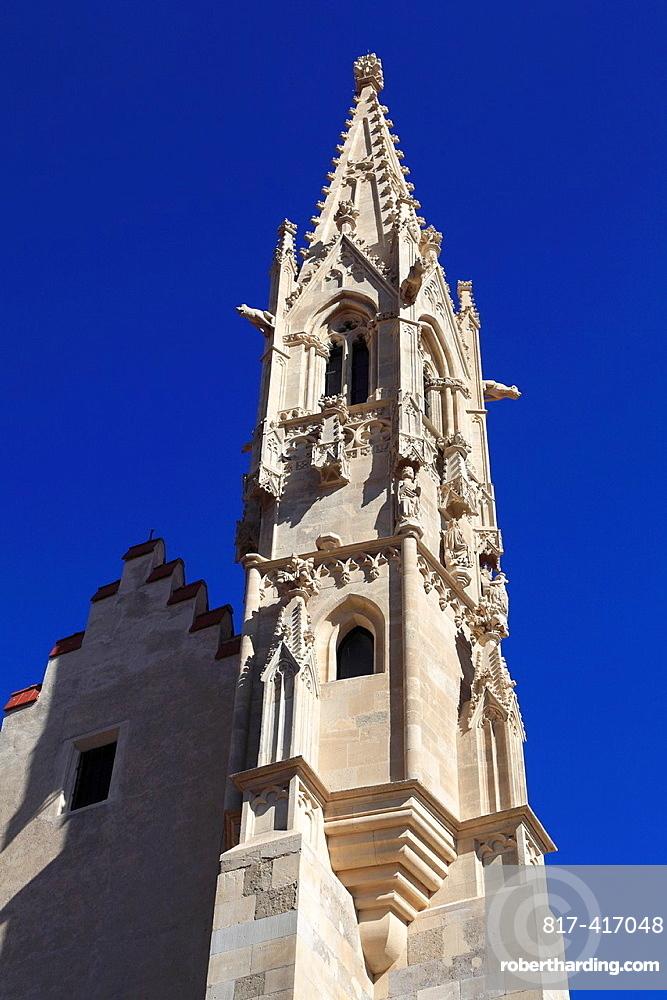 Slovakia, Bratislava, St Clares Church,