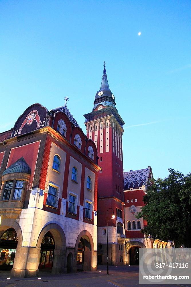 Serbia, Vojvodina, Subotica, City Hall,