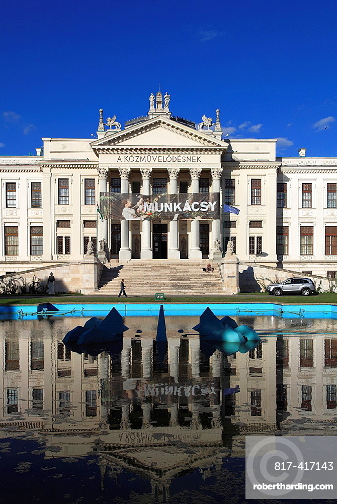Hungary, Szeged, Mora Ferenc Museum,