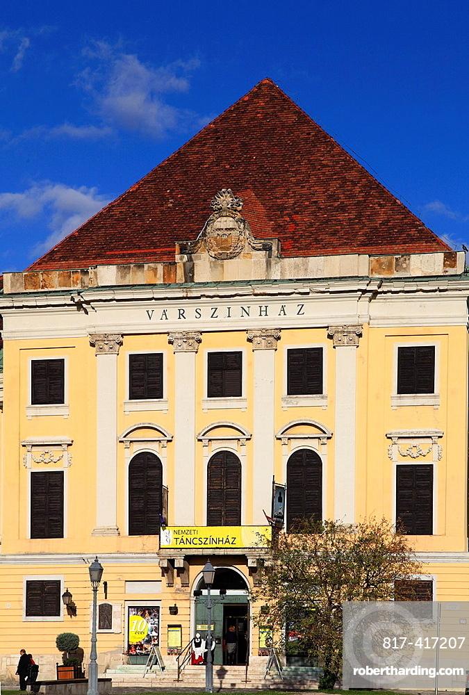 Hungary, Budapest, Buda, Castle theatre,